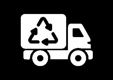 waste truck icon