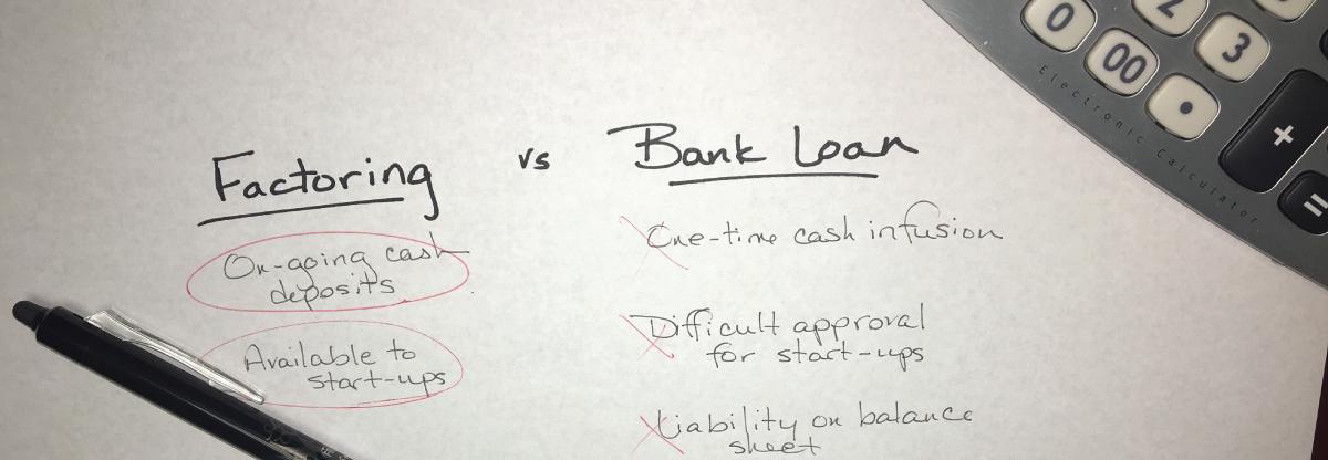 factoring vs. bank loans