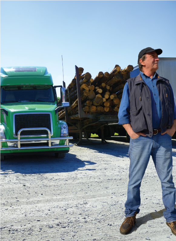 Trucking business owner in control of his cash flow